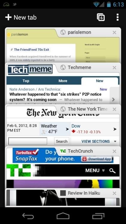 谷歌浏览器app截图2